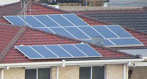 Solar Rooftop installations in Australia.