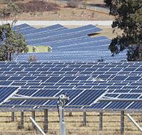 Solar Farm, photo.
