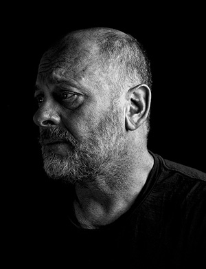 Tim Flannery, The Face of Climate Despair, Fear. Global Warming. Photo.