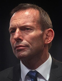 Photo, Tony Abbott.