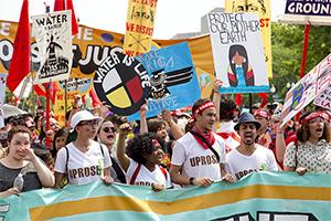 Climate protest, USA, Washington, Photo. Photo by Vlad Tchompalov on Unsplash