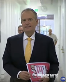 Bill Shorten, photo