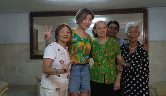 Yuanyuan yang in havana visiting two cantonese opera actresses in chinatown crop