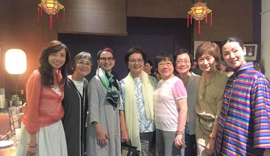 Director rita chang  acctf board pao lin hsu  grantee su chun wu  acctf board celia hong  group 33 emily huang  iris deng  jui yun ou  grantee xin xin wang