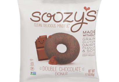Soozy's grain- free double chocolate donut