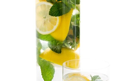 water mint lemon