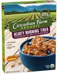 """The link to the home farm is important to Cascadian Farm's heritage and to the authenticity of the brand,"" says Cameron. Lure of the Home Farm. The new packaging features more color, and appears on more than Cascadian Farm products, ranging from cereal, granola, bars to ."