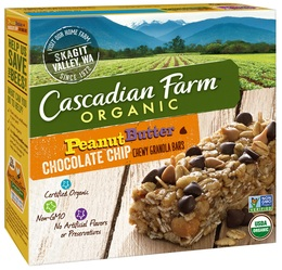 Cascadian Farm Organic Products Granola Bars Chewy