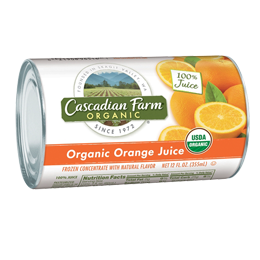 Cascadian Farm | Products | Juice Concentrates | Orange