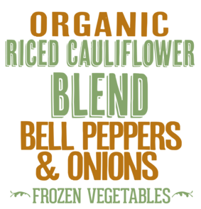 Riced Cauliflower Blend with Bell Peppers & Onions