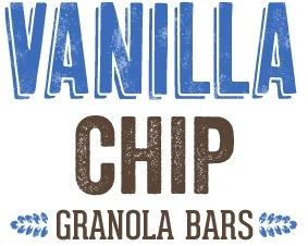 Vanilla Chip Granola Bars