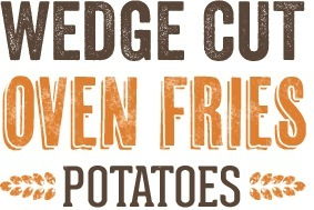 Wedge Cut Oven Fries