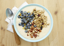 Lemon Blueberry Granola Peach Smoothie Bowls