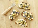Lemon Blueberry Ricotta Granola Toast