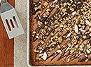 Almond Butter Granola Blondie Bars