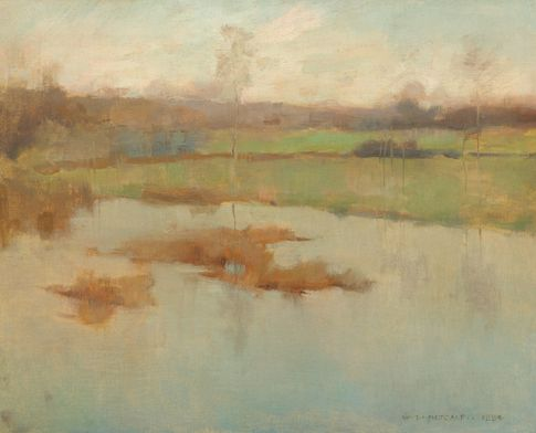 Metcalf Pond at Giverny
