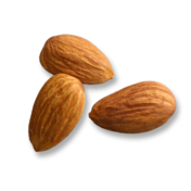 Ingredients almonds