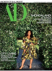 Michael S. Smith Shonda Rhimes in Architectural Digest