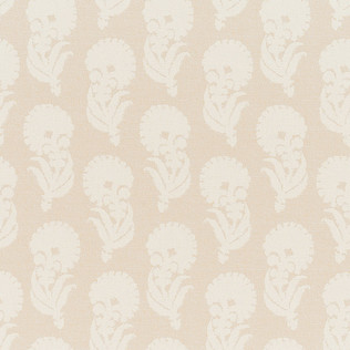 Jasper Performance Fabric in Indian Garden in Cream