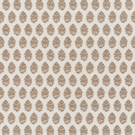 Jasper Performance Fabric inIndian Garden Paisley in Brown