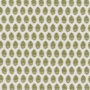 Jasper Performance Fabric in Indian Garden Paisley in Green