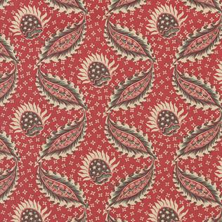 Jasper Fabrics in Remy in Red