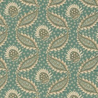 Jasper Fabrics in Remy in Teal