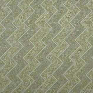 Jasper Fabrics in Lacquer Stripe in Sage