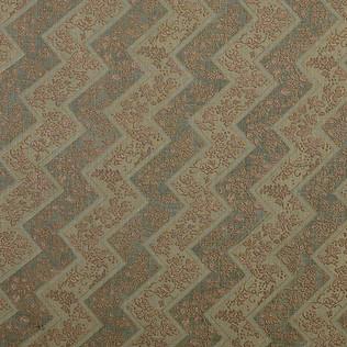 Jasper Fabrics inLacquer Stripe in Tobacco