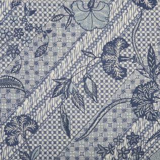 Jasper Fabrics inJava Stripe in Indigo