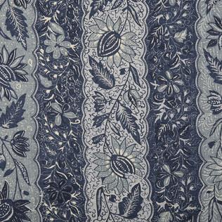 Jasper Fabrics inMelayain Indigo