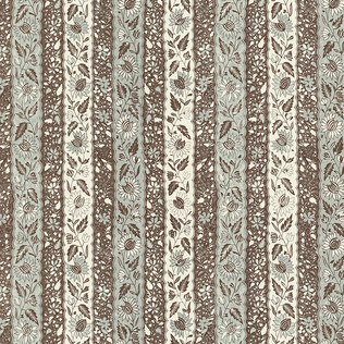 Jasper Fabrics inMelayain Blue/Brown