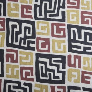 Jasper Fabrics inKuba in Oatmeal