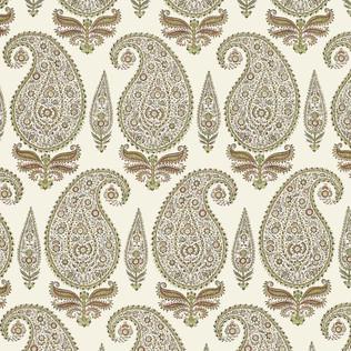Jasper Fabrics inKashimir - Mint/Coral