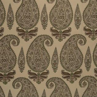 Jasper Fabrics inKashimir - Mint/Coral on LT