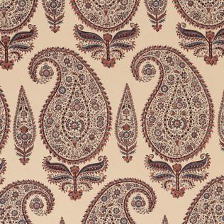Jasper Fabrics inKashimir - Coral/Blue