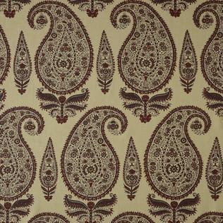 Jasper Fabrics inKashimir - Rust