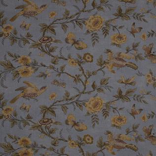 Jasper Fabrics inWallace Vine in Blue