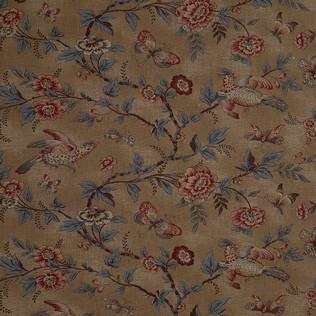 Jasper Fabrics inWallace Vine - Brown