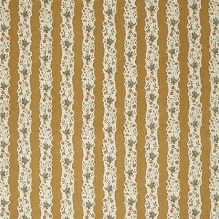 Jasper Fabrics inRed Oak Stripe - Saffron