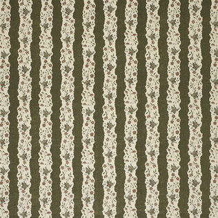 Jasper Fabrics inRed Oak Stripe - Green