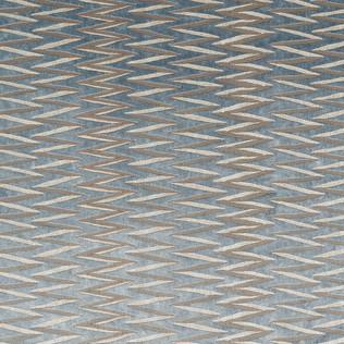 Jasper Fabrics inZig Zag Stripe - Teal