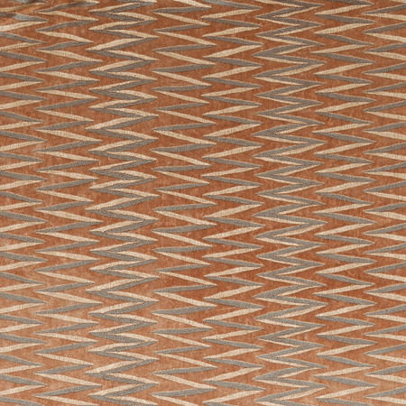 Jasper Fabrics inZig Zag Stripe - Saffron