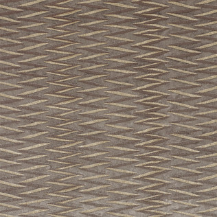 Jasper Fabrics inZig Zag Stripe - Pale Mushroom