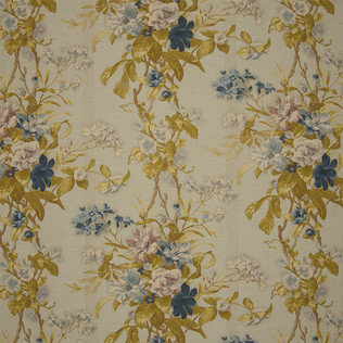 Jasper Fabrics in Hibiscus Morning - Blue