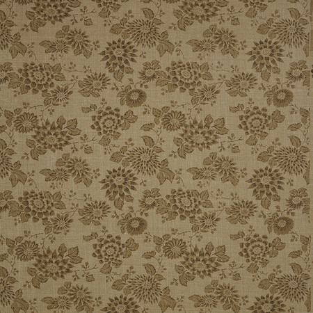 Jasper Fabrics inJapanese Stencil - Brown