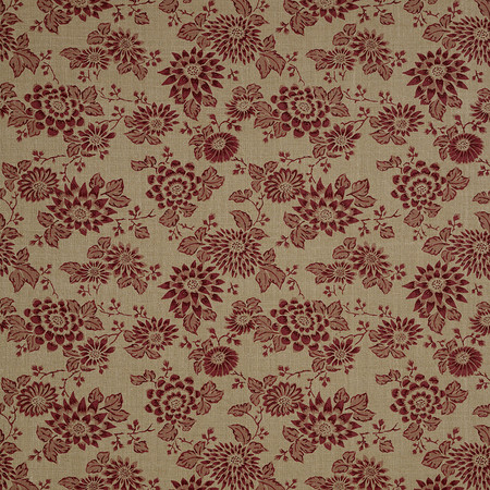 Jasper Fabrics in Japanese Stencil - Berry