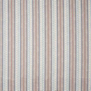 Jasper Fabrics inEastlake - Royal Blue/Rust