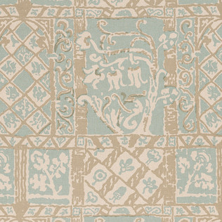 Jasper Fabrics inMoorea - Palm