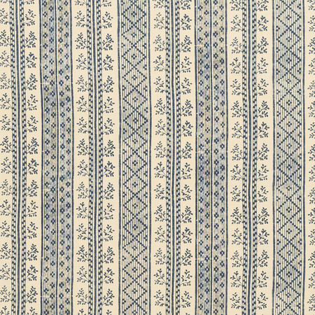 Jasper Fabrics in Dutch Stripe - Indigo